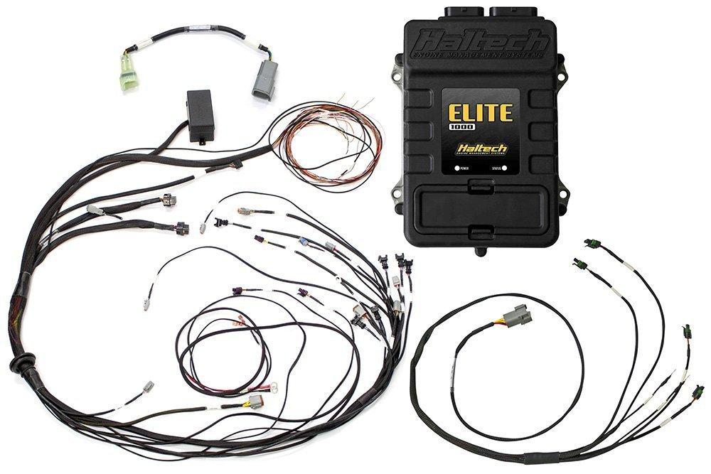 Elite 1000 Mazda 13B S4/5 Terminated Harness ECU Kit on