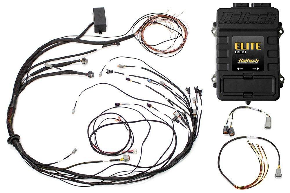 Elite 1000 Mazda 13B S6-8 Terminated Harness ECU Kit on