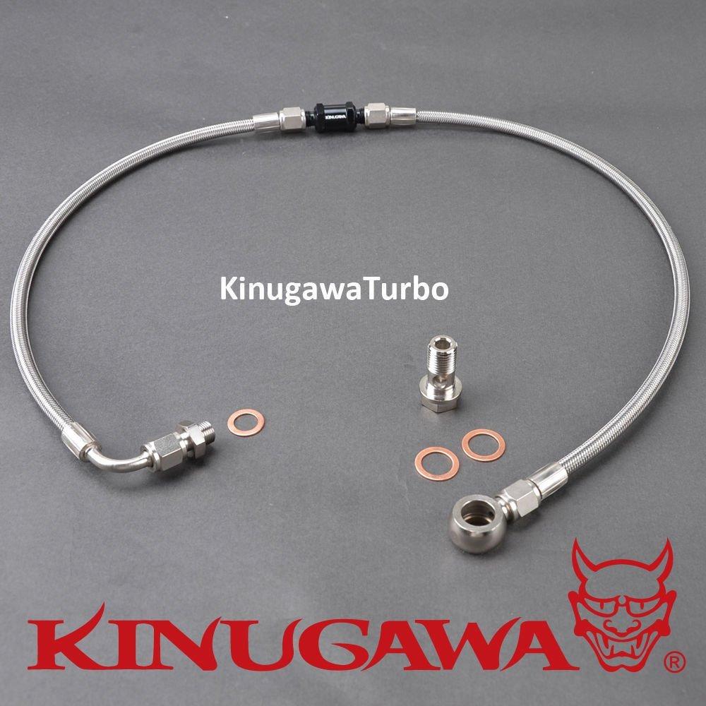 Kinugawa Turbo Oil Feed Line Kit – BA/BF XR6/F6 w/Garrett Ball Bearing Turbo