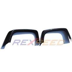 Rexpeed Dry Carbon Fibre Exhaust Heat Shields – Subaru WRX/STI 15-20